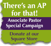 Donate to our Associate Pastor campaign